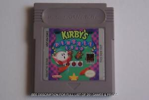 251 Gameboy (GB) Gameboy Color (GBC) Gameboy Advance (GBA) Games