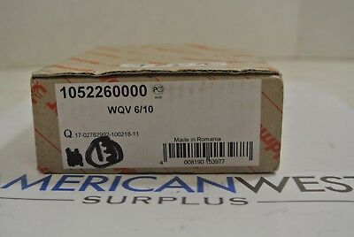 Weidmuller 10 Way Terminal Block Jumper Model 1052260000 Wqv 610 Box Of 13 New