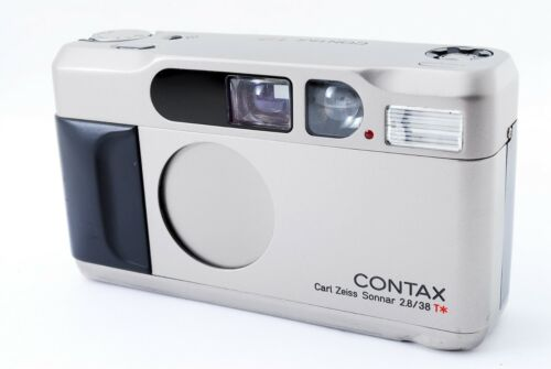 [Mint] CONTAX T2 Point & Shoot 35mm Film Camera From Japan