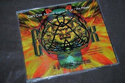 "CARL COX ""Sensual Sophis-Ti-Cat / The Player MAXI CD / EDEL - 009880 / 1996"