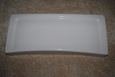 Universal Toilet Tank Lid - Universal Rundle 3452 Rose Dawn Toilet Tank Lid - Excellent Cond. & Sanitized