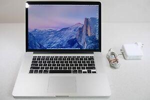 "Apple MacBook Pro 15"" Retina 8gb ram & 256 SSD in pristine cond South Yarra Stonnington Area Preview"