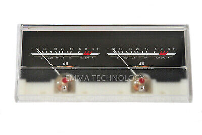 P-59wtc Vu Meter Db Level Header Amplifier Chassis Audio Preamp W Backlight