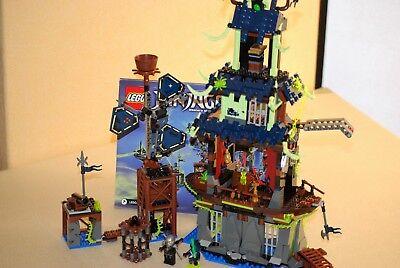Lego 70732 Ninjago Die Stadt Stiix nur das Gebäude mit Figuren und Anleitung