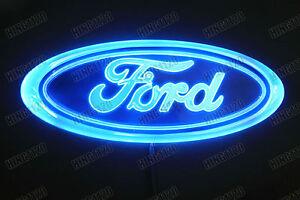 Lighted Ford Emblem Ebay