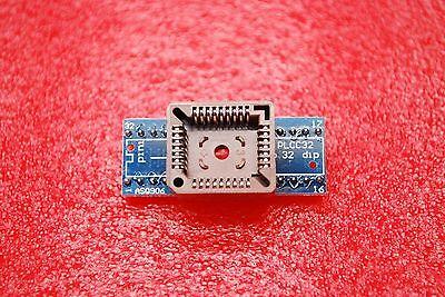 Plcc32 to dip32 programmer adapter ic socket converter module FL