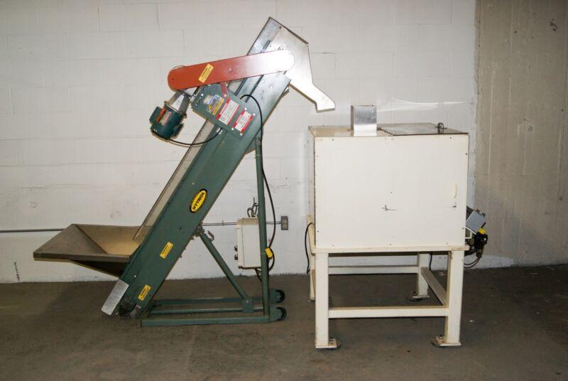 Hytrol - Stainless Steel Hopper, Feeder, Elevator - With Syntron Vibratory Bowl