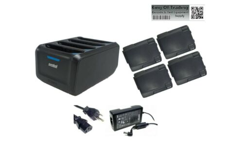 Zebra 4-Port Battery Charger & Batteries for TC70 TC75 TC77 | SAC-TC7X-4BTYPP-01