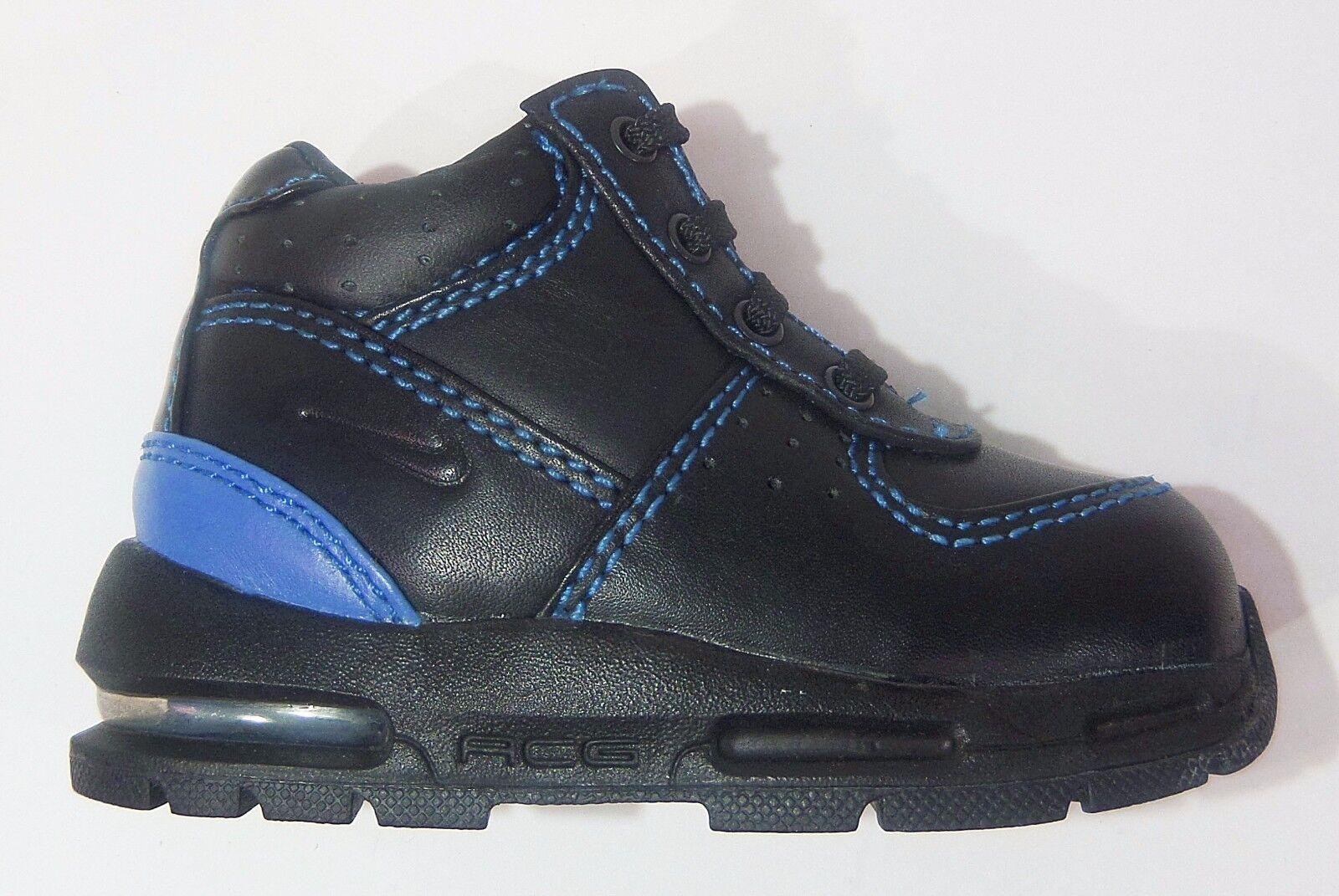 Nike Kids' Infant & Toddler AIR MAX GOADOME Shoes Black/Royal 311569-003 a9