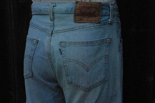 Vintage 501 Levis Buttonfly Jeans Made in USA Women 31x30