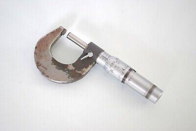 Vintage Brown Sharpe 0-1 Micrometer