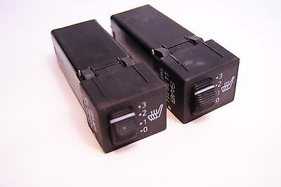 Saab 900 / 9000 Heated Seat Switch pair Turbo SPG 4439014 for sale  Shipping to Canada