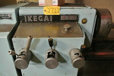 Ikegal Model A-20 Engine Lathe W Manual Important Drawings Included