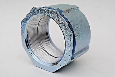 "3"" Malleable Iron 3 Piece Erickson Coupling For Use on Rigid & IMC Conduit"