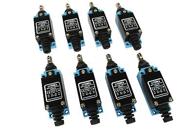 8 Pc Temco Cross Roller Plunger Limit Switch Cnc Mill Plasma Router Lathe Home