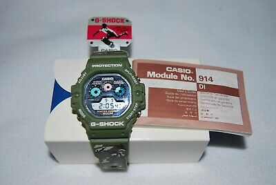 Casio G-Shock DW-5900F-3V Camo 3 Eyes Vintage NOS Mint Unused
