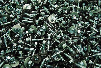 350 Hex Rubber Washer Head 12 X 1 Self-drilling Roofing Siding Screw