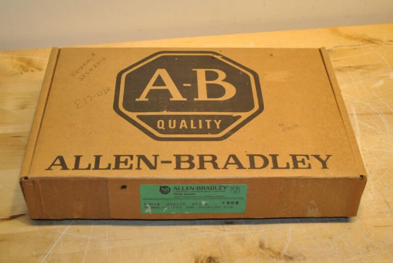 Allen Bradley 50378 Output Amp Display PCB Card S50378