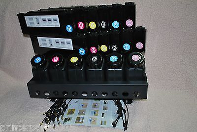 Uv Bulk Ink System 6x12 For Roland Mimaki Mutoh And Epson Printers Us Seller