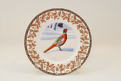 4 National Wildlife Federation Wild Birds Salad Plate Plates 8 Inch