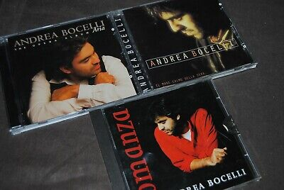 3 X CD ANDREA BOCELLI / POLYDOR - PHILIPS