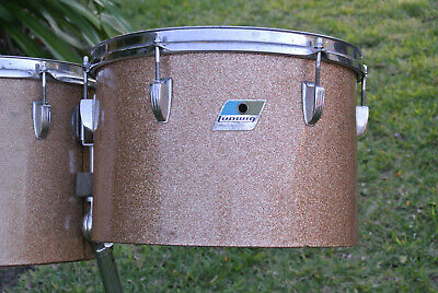 "1972 Ludwig CLASSIC 13"" CHAMPAGNE SPARKLE MELODIC TOM for YOUR DRUM SET! #Z264"