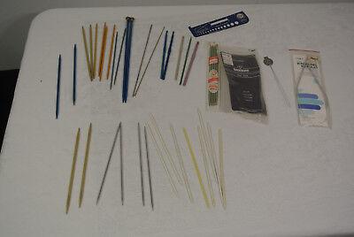 Knitting Needles Circular Steel Boye Large LOT