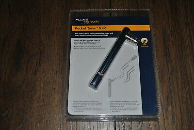Fluke Networks Pocket Toner Nx2 For F-type Coax Cable Ptnx2