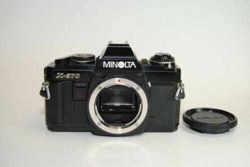 MINOLTA X-570 35mm SLR Film Camera Body Only