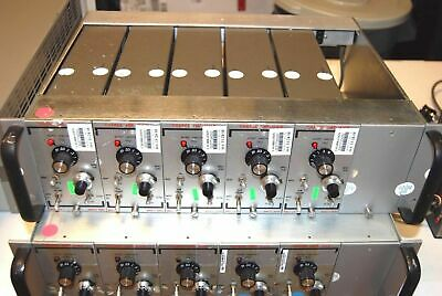 Unholtz Dickie Charge Amplifiers Qty 5 Of 122p W Power Case Cord Complete