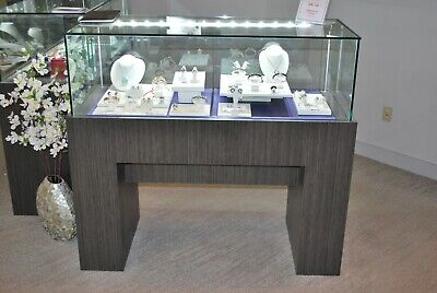 Two Jewelry Showcases