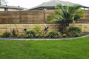 Sandstone Concrete Sleepers & Galvanized Steel Posts Sale Hemmant Brisbane South East Preview