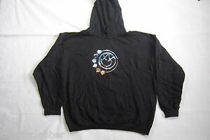 BLINK 182 CHROME SMILEY HOODIE HOODED SWEATSHIRT XL NEW OFFICIAL DUDE RANCH