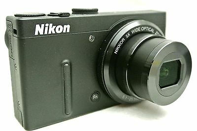 Nikon Coolpix P330 compact digital camera with accessories *superb *tested