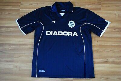 MENS FOOTBALL SHIRT SHEFFIELD WEDNESDAY FC AWAY 2002-2003 DIADORA JERSEY 42/44