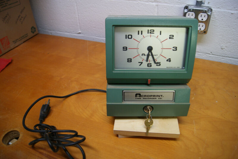 Accuprint Time Clock 150NR4