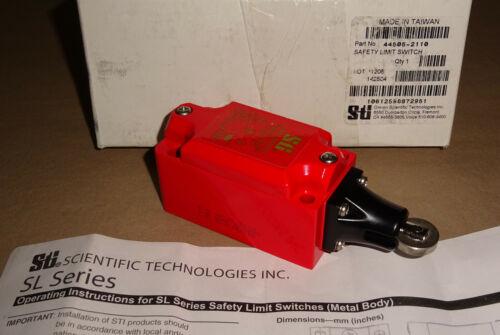 Omron 44505-2110 Safety Limit Switch 445052110 STI NEW