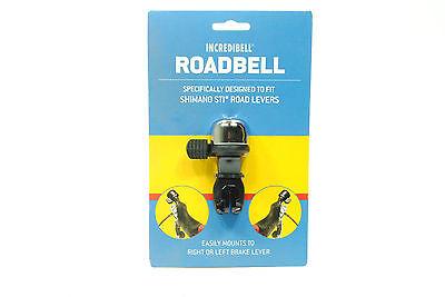 Mirrycle Incredibell Road Bike Bicycle Bell for Shimano STI Brake Levers
