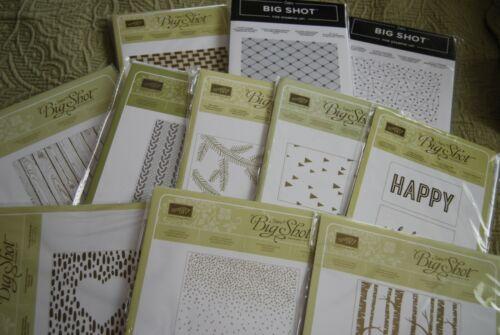Stampin Up Textured Impressions Embossing Folder - NIP - You Choose