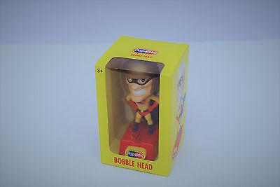 Popsicle Bobble Head Caped Super Hero 2006 Unilever Speaks Toy Nib