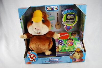 Linny The Guinea Pig (🔶WONDER PETS Linny The Guinea Pig Nickelodeon Play Along Learning Toy)