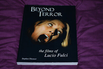 Beyond Terror The Films of Lucio Fulci - OOP FAB Press - Signed Dagmar Lassander