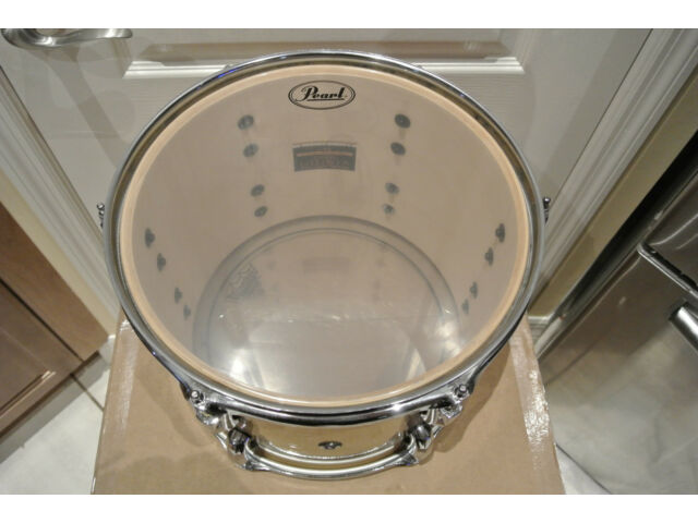 """PEARL VISION 12"""" NATURAL RACK TOM SST BIRCH PLY SHELL for YOUR DRUM SET! #A387"""
