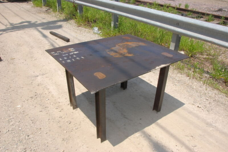 """Welding table 48*40 1/2*30,3/8""""thick INV=29612"""