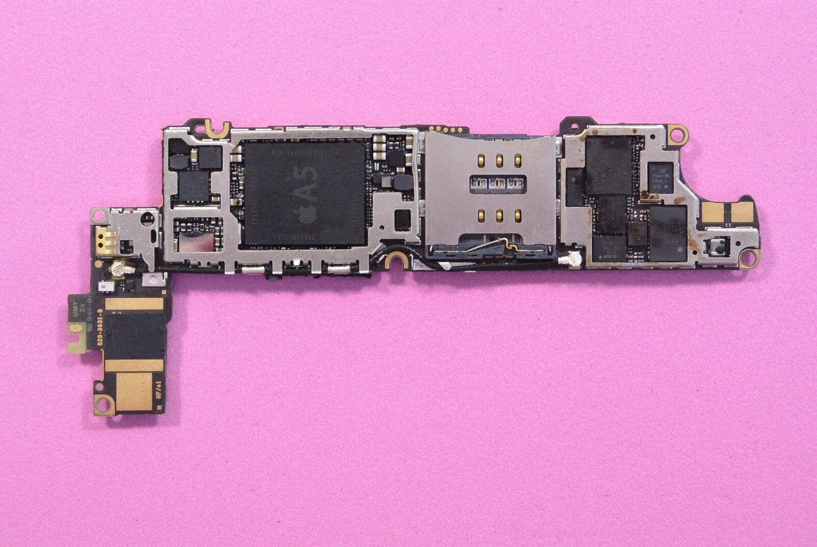 iphone 4s full original motherboard logic board for parts faulty