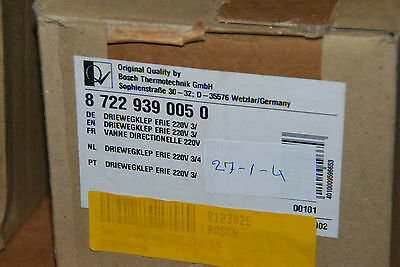 BOSCH RADSON 87229390050 3-WEGEVENTIL ERIE 220V 3-4 DRIEWEGKLEP NEU segunda mano  Embacar hacia Mexico