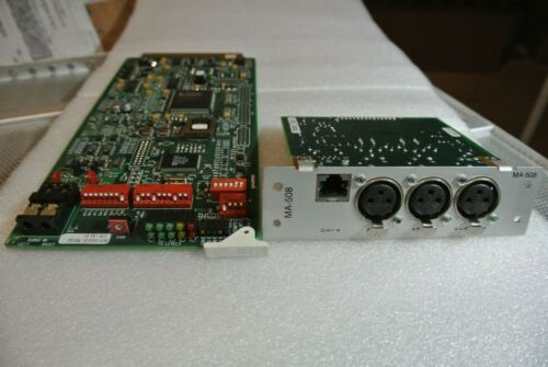 HARRIS INTRAPLEX PT-353 MODULE+MA-508 AUDIO INTERFACE