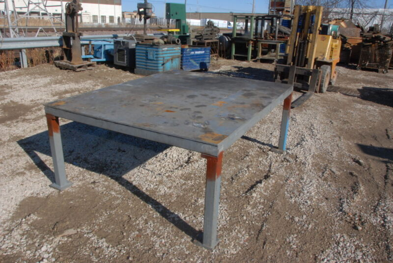 """HUGE!Welding Table 78*64*32,3/8""""thick INV=29915"""