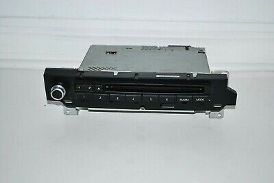 2004-2010 BMW 5 Series M5 M6 Professional Sound Single CD Radio Black OEM