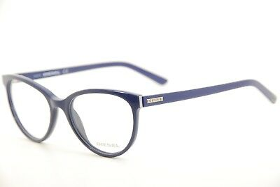 New Authentic Diesel DL 5025 col.090 Violet Blue 52mm Eyeglasses Frames RX
